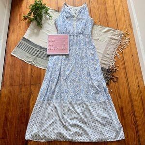 Old Navy Paisley Floral Maxi Dress